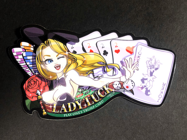 LADY LUCK(5カード)